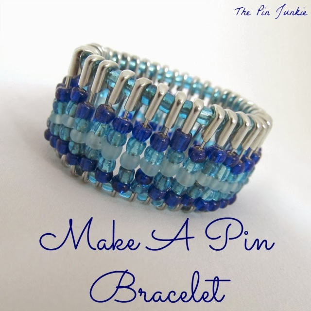 Bonnie's Chic Safety Pin Bracelet