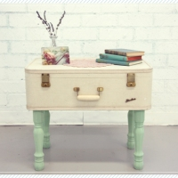 Ruche's Vintage Coffee Table Suitcase