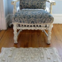 Diana's Upcycled Sweater Rug