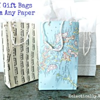 Kelly's Brilliant Upcycled Gift Bags
