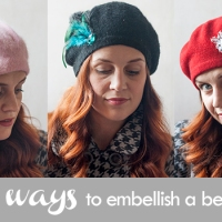 Hanna's Brilliant Beret Styling