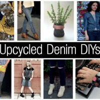 8 Cute & Quirky Upcycled Denim DIYs