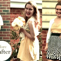 Katie's No Waste Crop Top Refashion