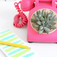 Jenni's Rockin' Repurposed Rotary Telephone