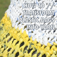 M.e's #Recycled Plastic Bag Yarn #Tutorial