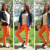 Ilona's Scalloped Blazer #Refashion