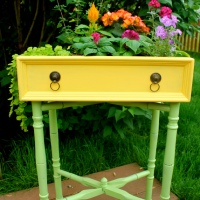 Tara's Adorable #Upcycled #DIY Drawer Garden
