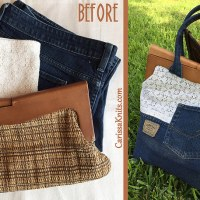 Carissa's Awesome #Upcycled #Refashioned Bag