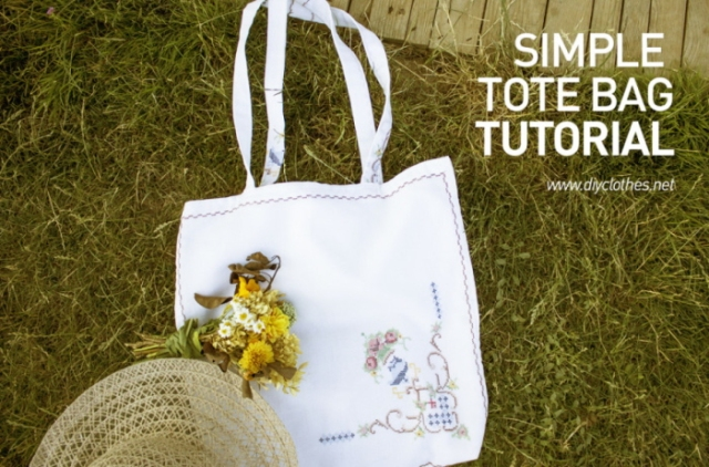 easy totebag tutorial