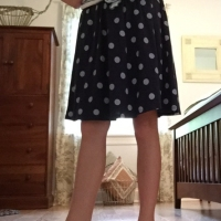 Abigail's Instant #Refashioned Skirt