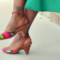 Troy's #Upcycled Sandal #Refashion