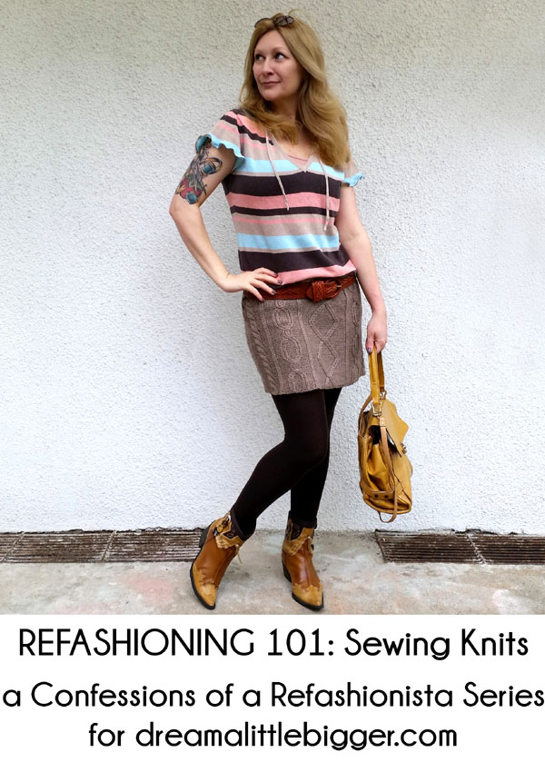 Refashioning 101: Sewing knits