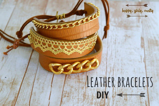 upcycled belt bracelet cuff diy