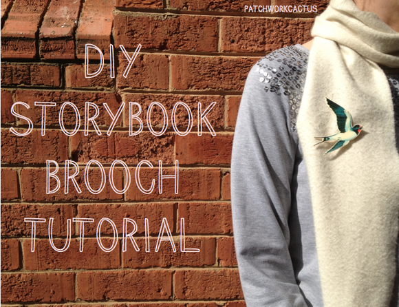 easy diy brooch tutorial