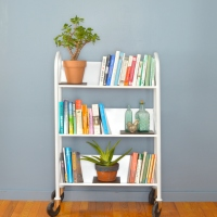 Sage's Revamped #Vintage Library Cart