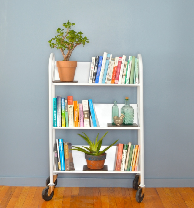 library-cart-makeover