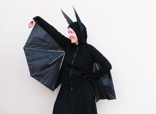 upcycled umbrella costume diy