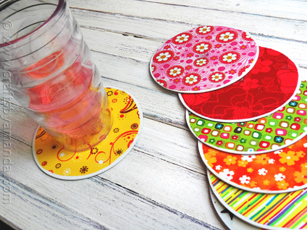 Recycled-CD-coasters tute