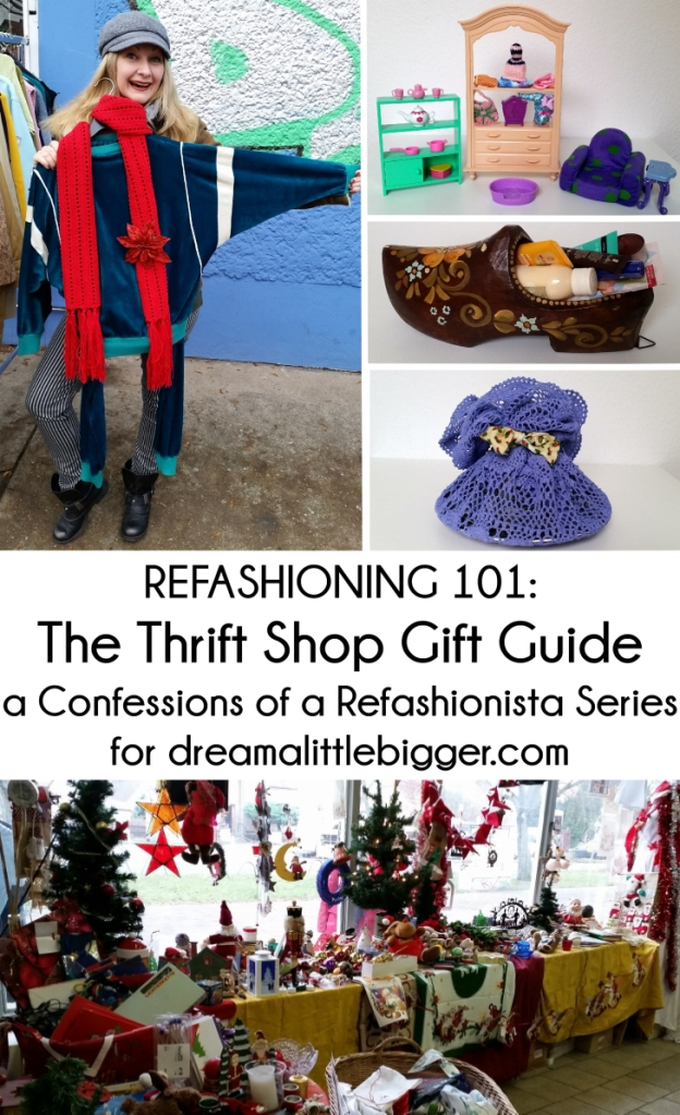 Refashioning 101 - Thrifted Gift Ideas