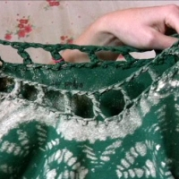 Cal's #DIY Crocheted Neckline Tutorial