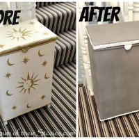 Julie's Laundry Hamper #Makeover
