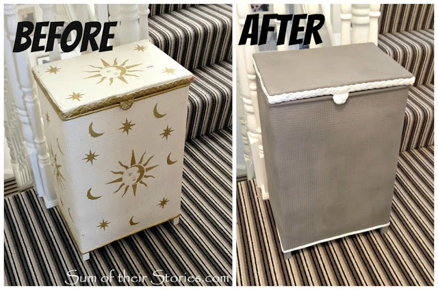 refurbished laundry hamper how-to