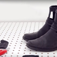 Ari's#NoSew Boot #Refashion