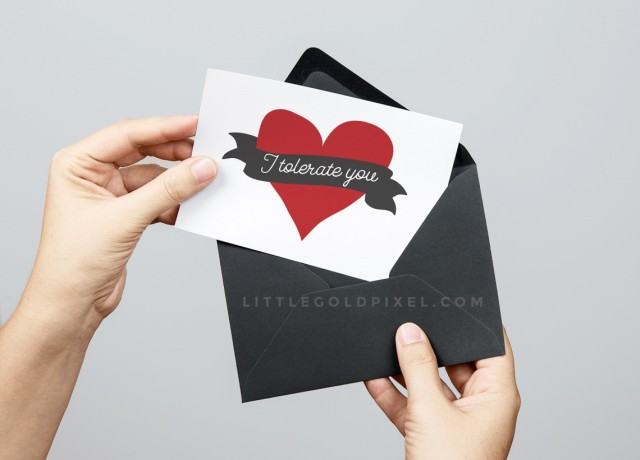 free printable anti-valentine's day cards
