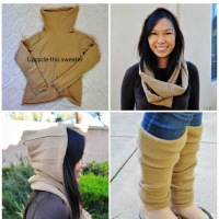 Rena's #Upcycled Sweater Projects