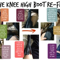 Vanessa's Clever Boot #Upsizing Tutorial
