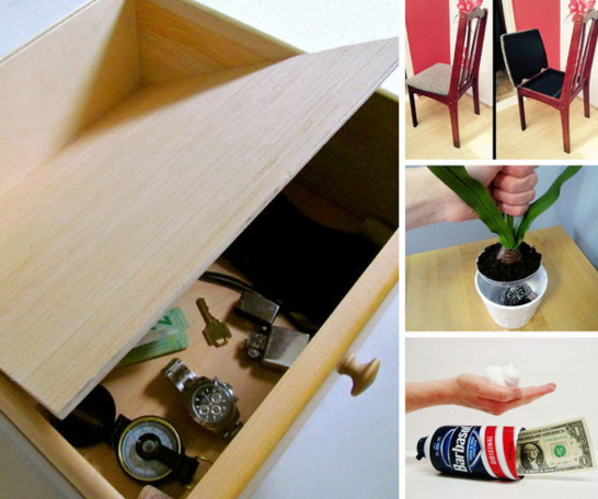 21 secret treasure DIY safes