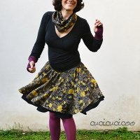 Lisa's #DIY Circle Skirt Pattern & #Tutorial