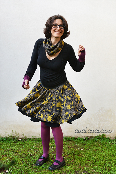 Lisa\'s #DIY Circle Skirt Pattern & #Tutorial | Refashion Nation