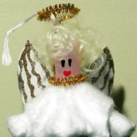 The Hilarious #Upcycled Tampon Angel (or fairy) #Tutorial