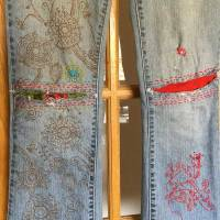 Pam's awesome #DIY denim repair