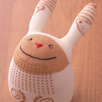 Rosie's #upcycled #DIY sock bunnies
