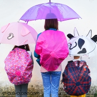 #Upcycled Backpack Rain Cover