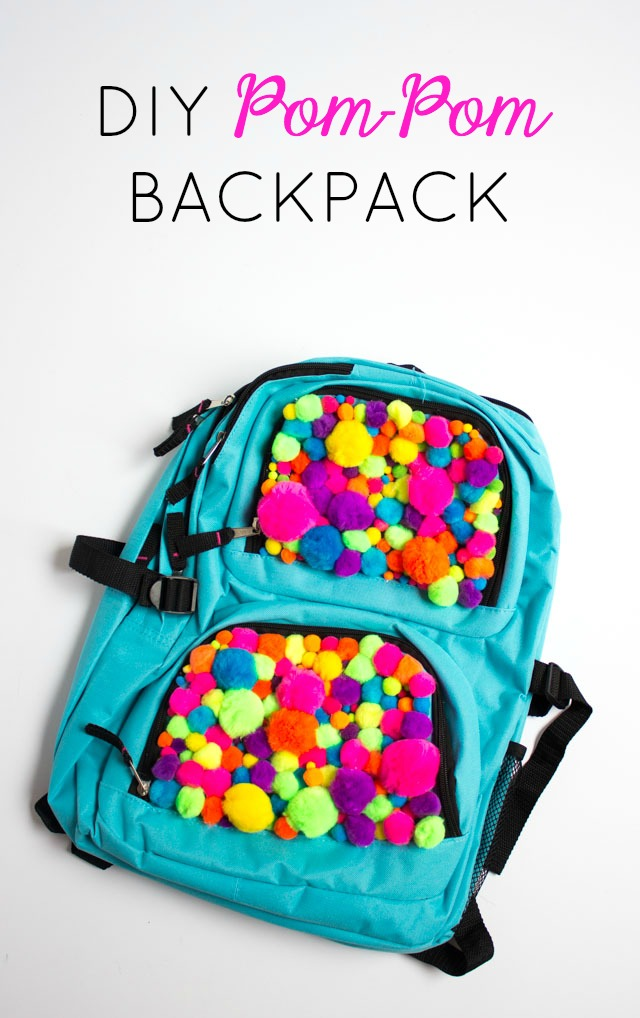 diy-pom-pom-backpack