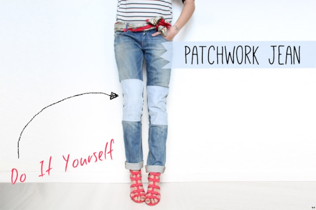 patchwork-jean-diy