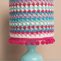 Nadine's Cute #Crocheted Lampshade