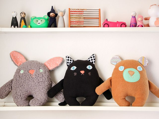 free DIY softie pattern