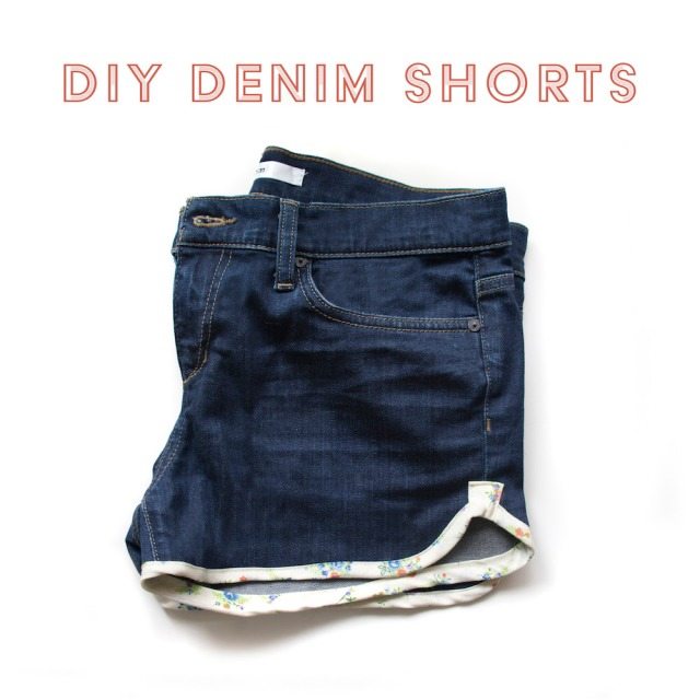 diy+denim+shorts