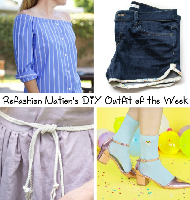 Refashion Nation DIY outfit of the week Apr10