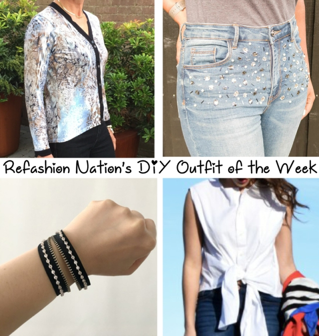 Refashion Nation DIY outfit of the week Apr17