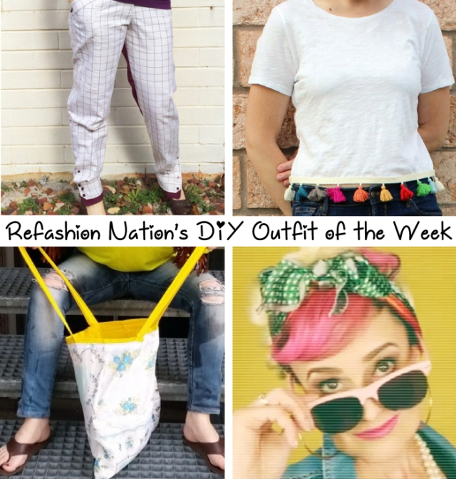 Refashion Nation DIY outfit of the week Apr24