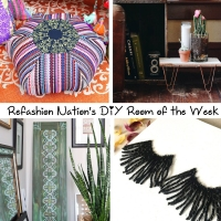 Refashion Nation's 2nd DIY Room of the Week