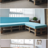 #DIY #Upcycled Pallet Sofa