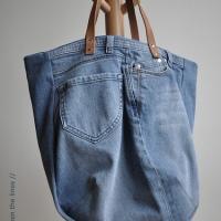 #Upcycled Jeans to Bag
