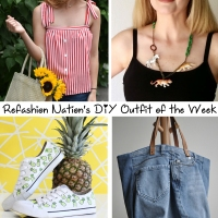 Refashion Nation's 9th #DIY Outfit of the Week