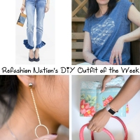 Refashion Nation's 8th #DIY Outfit of the Week